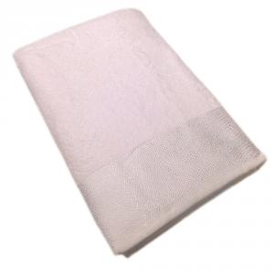 Telo da bagno in spugna GABEL Chromo tinta unita - bianco