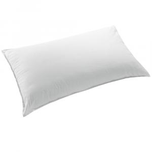Cuscino guanciale alto compatto ZUCCHI bianco 50x80 cm