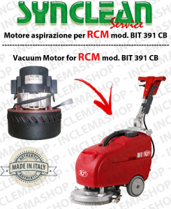 BIT 391 CB SYNCLEAN Vacuum Motorclean for scrubber dryers RCM