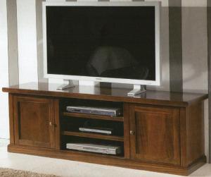 PORTA TV IN ARTE POVERA NOCE