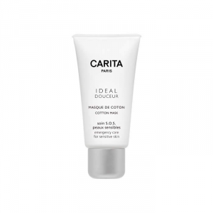 Carita Ideal Douceur Cotton Mask Emergency Care For Sensitive And Reactive Skin 200ml