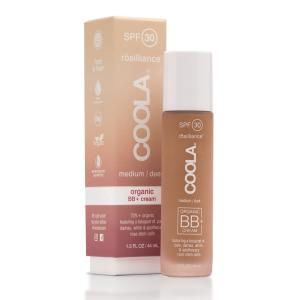 Coola Organic Bb Cream Rosiliance Spf 30 Medium Dark New 44ml