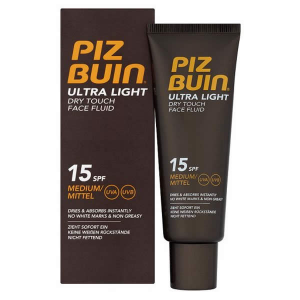 Piz Buin Ultra Light Dry Touch Face Fluid Spf15 50ml