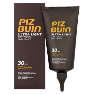 Piz Buin Ultra Light Dry Touch Sun Fluid Spf30 150ml