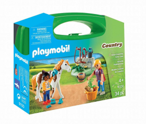PLAYMOBIL CARRY CASE GRANDE MANEGGIO 9100
