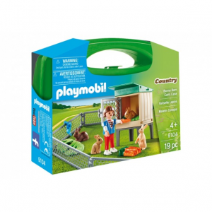 PLAYMOBIL CARRY CASE CONIGLI 9104