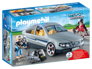 PLAYMOBIL AGENTI IN BORGHESE 9361