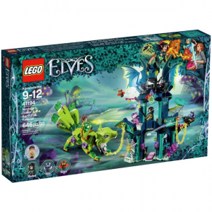 LEGO ELVES LA TORRE DI NOCTURA E IL SALVATAGGIO DELLA VOLPE DI TERRA 41194