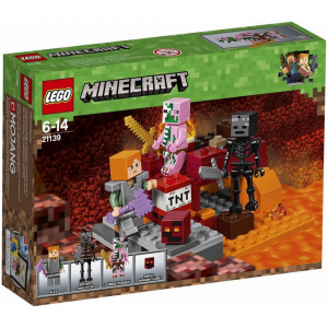 LEGO MINECRAFT LOTTA NEL NETHER 21139