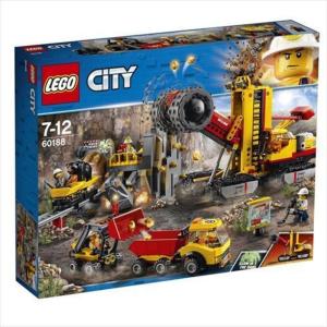 LEGO CITY MACCHINE DA MINIERA 60188