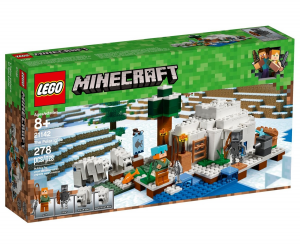 LEGO MINECRAFT L'IGLOO POLARE 21142