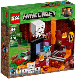 LEGO MINECRAFT IL PORTALE DEL NETHER 21143