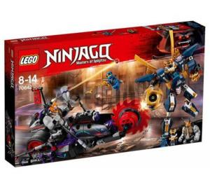 LEGO NINJAGO KILLOW CONTRO SAMURAI X 70642