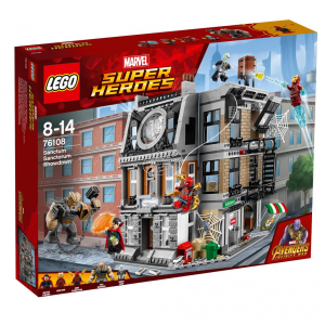 LEGO SUPER HEROES CONF AVENGERS FACE OFF 76108