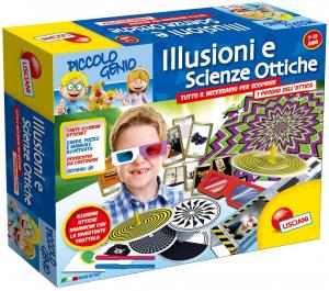 LISCIANI GIOCHI PICCOLO GENIO ILLUSIONI E SCIENZE OTTICHE - I'M A GENIUS 46355