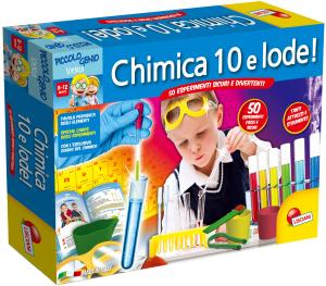 LISCIANI GIOCHI PICCOLO GENIO CHIMICA 10 E LODE - I'M A GENIUS 51748