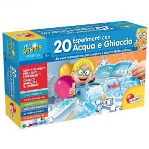 LISCIANI GIOCHI 20 ESPERIMENTI CON ACQUA E GHIACCIO - I'M A GENIUS 56309