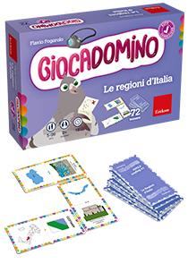 ERICKSON GIOCADOMINO - LE REGIONI D'ITALIA