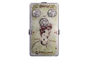 PEDALE DISTORSORE CHITARRA DAVID DISTORTION DOLPHIN'S SOUND