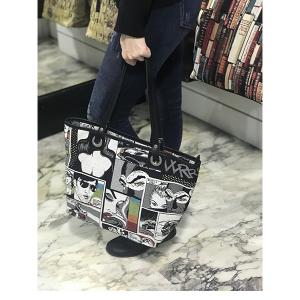 Borsa Shopper Tessuto Trendy Merinda