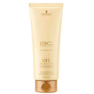 Schwarzkopf Bc Oil Miracle Light Shampoo 200ml