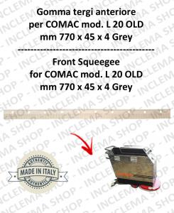 L 20 OLD goma de secado delantera para fregadora COMAC