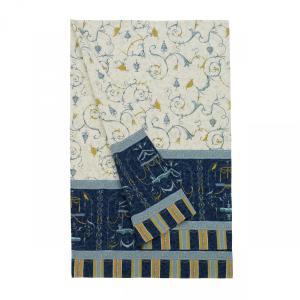 Bassetti Granfoulard Telo arredo Copritutto OPLONTIS 9 270x270 cm Blu