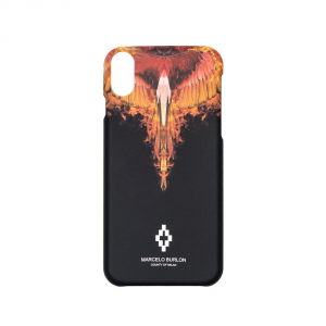 "Cover MARCELO BURLON ""FLAMES"" per iphone X"