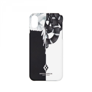 """Cover MARCELO BURLON """"SNAKES WINGS"""" per iphone X"""