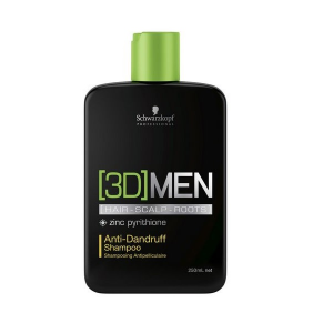 Schwarzkopf Professional 3D Men Anti Dandruff Shampoo 250ml