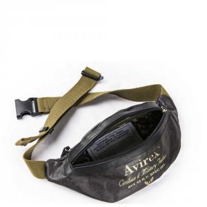 Avirex- Alifax - Marsupio da uomo 1 scomparto verde scuro cod. A15