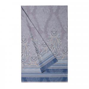 Bassetti Granfoulard telo arredo ELBA var. 7 blu-avio puro cotone - 180x270 cm