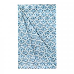 Granfoulard telo arredo copritutto ZUCCHI Easy Chic KAIMI 3 azzurro - 180x270 cm