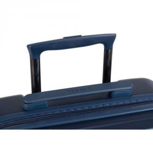 Delsey - Schedule 2 - Valigia trolley da cabina 4 ruote slim TSA 53 cm blu cod. 0606803
