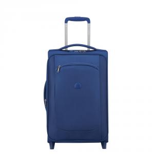 Delsey - Montmartre Air - Valigia universale trolley da cabina slim espandibile 55 cm blu cod. 2252724