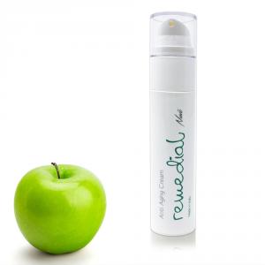 Remedial Crema viso Antirughe con CELLULE STAMINALI VEGETALI Acido ialuronico Puro 3 Pesi molecolari,olio con Omega 6,Omega 9 100% biologico 50ml