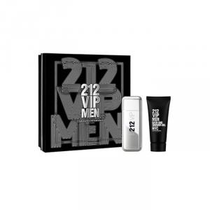 Carolina Herrera 212 Vip Men Eau De Toilette Spray 100ml Set 2 Parti 2018