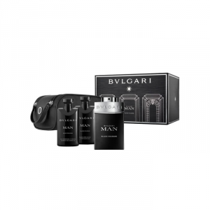 Bvlgari Man Black Cologne Eau De Toilette Spray 100ml Set 4 Parti 2018