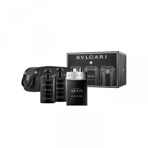 Bvlgari Man Black Cologne Eau De Toilette Spray 100ml Set 4 Parti 2018