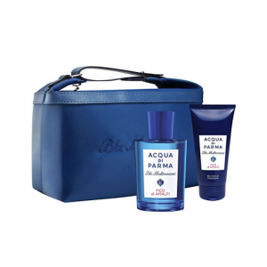 Acqua Di Parma Blue Mediterraneo Fico Di Amalfi Eau De Toilette Spray 150ml Set 3 Parti 2018
