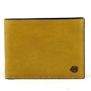 Man wallet Piquadro BLACK SQUARE PU1241B3 R/G