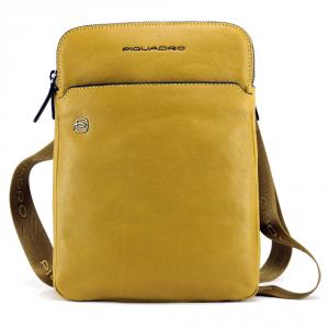 Shoulder bag Piquadro BLACK SQUARE CA3978B3 GIALLO
