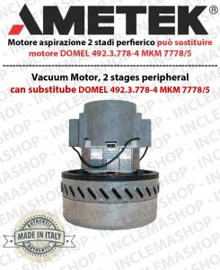motor de aspiración AMETEK che può sostituire motore DOMEL 492.3.778-4 MKM 7778/5