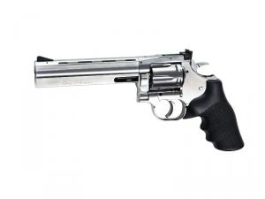 """Dan Wesson 715 - 6"""" Revolver Silver"""