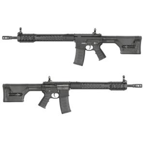 King Arms Black Rain Ordnance Rifle-PTS PRS stock-LE