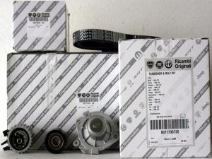 Kit Distribuzione Con Pompa Acqua Originale Fiat - Lancia - Alfa Romeo
