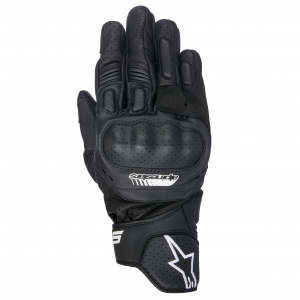 GUANTI MOTO IN PELLE ALPINESTARS SP-5 BLACK COD 3558517