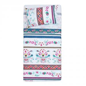 Desigual set lenzuola letto singolo 1 piazza EXOTIC SUMMER