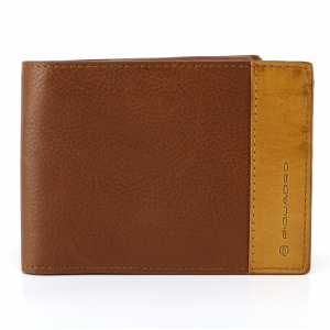 Man Wallet Piquadro  PU1392S65 MARRONE