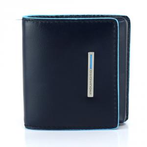 Coins holder Piquadro BLUE SQUARE PU2634B2 BLU